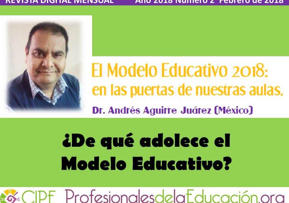 El Modelo Educativo 2018:  en las puertas de nuestras aulas
