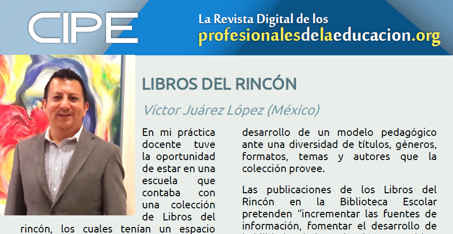 LIBROS DEL RINCÓN Víctor Juárez López (México)
